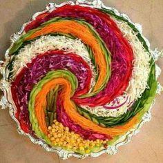 Görsel Salata Sunumları « orgu evim,bebek örgü,örgü modelleri,elişi,oya,