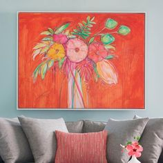 Fill your bare walls with Grandin Road's selection of indoor wall art, including botanical art and animal art. Bird Wall Art, Mirror Wall Art, Floral Wall Art, Canvas Wall Art, Mirrors, Flower Artwork, Abstract Flowers, Flower Paintings, Oil Paintings