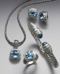 Balissima by Effy Blue Topaz collection — what a gem