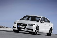 Audi A3 available for the first time as an attractive sedan
