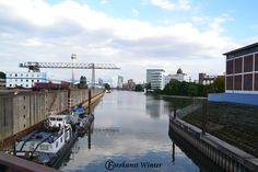 Hafen in Düsseldorf --- Copyright © by Silke Winter www.fotokunst-winter.de