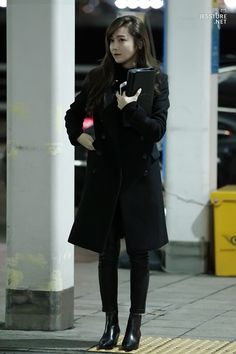 Jessica Jung Airport Fashion  151204 2015