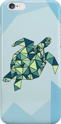 Geometric Sea Turtle http://www.redbubble.com/people/andienicole/works/22856976-sea-turtle?asc=u&p=iphone-case&ref=artist_shop_grid