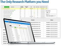 Jaaxy the keyword research tool that I use in my agency. Kick the tires and watch the training, do some free research (warning, you'll get hooked).