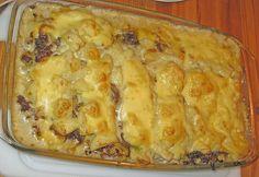 Kartoffelauflauf mit Lauch und Hackfleisch, ein schmackhaftes Rezept aus der Kategorie Gemüse. Bewertungen: 9. Durchschnitt: Ø 3,9.
