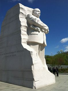 Martin Luther King Memorial in Washington, DC, from our recent road trip.