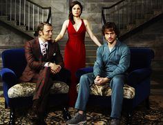 Hannibal, Alana, and Will