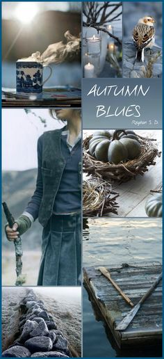 Fashion Collage Blue Ideas For 2019 Colour Schemes, Color Trends, Color Patterns, Color Combinations, Pantone, Beautiful Collage, Beautiful Pictures, Color Collage, Mood Colors