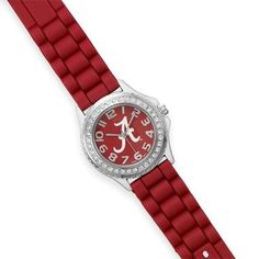 *NEW*Collegiate Licensed University of Alabama Ladies' Fashion Watch