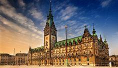 Hamburg Rathaus, Hamburg, Germany