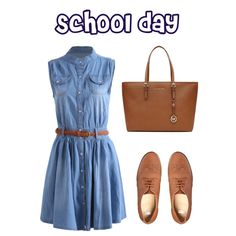 School day by adel-en on Polyvore featuring ASOS and MICHAEL Michael Kors