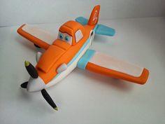 "Studio ""FONDANT DESIGN ANA"" - Dusty - Planes"