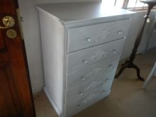 lovely techniqued chest of drawers for any bedroom boys girls or mum's