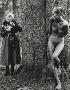 Imogen and Twinka, Yosemite, 1974  Photographer: Judy Dater