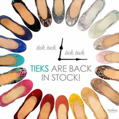 Tieks @Lisa Phillips-Barton Schafer Apparently these are the best flats ever!  $100+....my future new favorite shoe!!! For $100+ they better carry or fit narrow feet!!