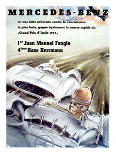 Poster Fangio