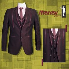 Real luxury is understanding quality, and having the time to enjoy it. 5 piece Suit with baby pink polka dot Shirt #Suit #ItalianSuit #PolkaDotShirt #Luxurious #Classy #Blazer #ModernStyle #SuitAndStyle #WellDressed #Gentlemen #SmartLook #Classic #MensWear #MensStyle #MensFashion #GoodFit #DapperStyle www.manavethnic.com