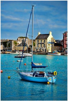 Loved living in this little harbor town, Dungarvan, County Waterford, Ireland