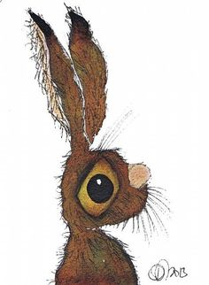 Red Hare by Dawn Barker