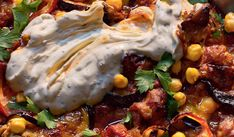 This Levantine style aubergine moussaka comes from Tony Kitous& Comptoir Libanais. Top with a dollop of tahini, za& spice blend and fresh flat leaf parsley. Curry Recipes, New Recipes, Cooking Recipes, Greek Recipes, Vegan Recipes, Favorite Recipes, Chocolate Dishes, Moussaka Recipe, Homemade Curry
