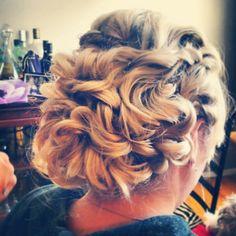 #WHOBride Erin K.'s gorgeous hair was easy to perform this updo style! #weddinghairofohio