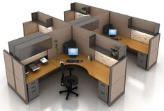 Modular Cubicles for Office