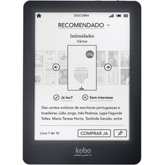 Kobo eReader Glo - comes with it's own light