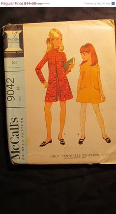 SALE Uncut 1960's McCall's Sewing Pattern 9042 by EarthToMarrs, $9.80