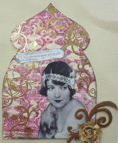Asian Inspired Gothic Arch as seen in Scrapbook News and Review