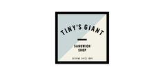 Veggie burgers at Tiny's giant sandwich shop - nyc