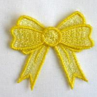 OregonPatchWorks.com - 3D FSL Bows - You could stitch these out and applique to little girl dresses.