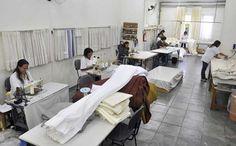 Casa Mineira possui fábrica própria de colchas, cortinas, almofadas personalizadas.