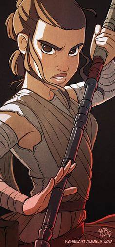 Pinup Arena • kaiselart:   Rey by Kaisel