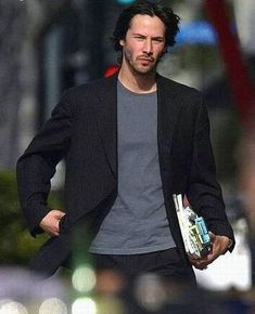 Image result for keanu reeves wearing blue images