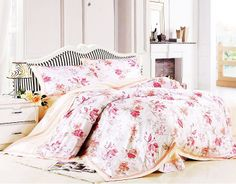 Shabby Chic Floral Bedding