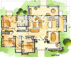 Floor plan 1400+ sqft