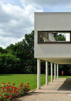 Villa Savoye | Le Corbusier |photo by Burçin Yildirim