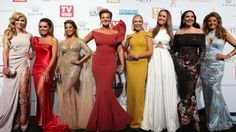 The Housewives of Melbourne cast at the 58th annual TV Week Logie Awards. Picture Julie Kiriacoudis