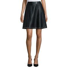 jcpenney.com | Worthington® Pleather Grommet Skirt