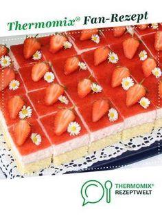 Erdbeertraum- Kuchen von conny_k. Ein Thermomix ® Rezept aus der Kategorie Backen süß auf www.rezeptwelt.de, der Thermomix ® Community.