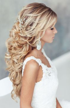 Long Formal Hairstyles for Weddings