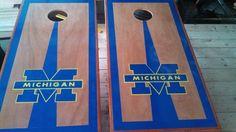 Michigan custom Cornhole Boards