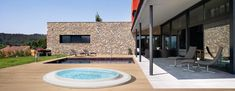 Teuco presents Commercial. Discover Commercial in the HYDROSPA category of Teuco english site. Mini Pool, Saunas, Spa, Wonderful Places, Commercial, Relax, Patio, Outdoor Decor, House