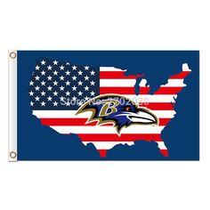 #US #AMERICA #BALTIMORE #RAVENS #FLAG #BANNER #FOOTBALL #BANNERS #SUPER #BOWL #CHAMPIONS #3FT #X #5FT #100D #POLYESTER #BANNER