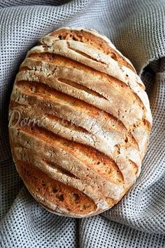 Chleb na zakwasie – codzienny Bread Bun, Pan Bread, Bread Rolls, Bread Baking, Fruit Recipes, Mexican Food Recipes, Cooking Recipes, Baguette, Artisan Cheese
