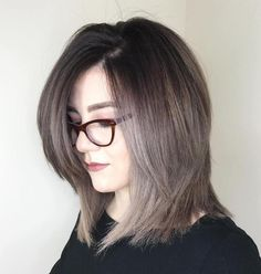 Shoulder-Length Cut With Long Side Bangs