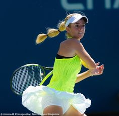 CiCi Bellis rocking her Nikecourt at the 2016 US Open - from Photography ( Us Open Tennis, Tennis Live, Tennis Wear, Sport Tennis, Katie Boulter, Tennis Players Female, Tennis Tournaments, Racquet Sports, Tennis Clothes