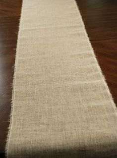Burlap Table Runner 96in  Aubrey, this is the size table runner you need for your 8 foot tables...once you know how many tables, you could order them, they are $4.99 a piece.