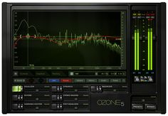 iZotope Ozone 5: Audio Mastering Tools Great for adding that final polish to your tracks.