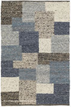 Patchwork Rugs, Patchwork Patterns, Blue Rugs, Duck Egg Blue, Shades Of Blue, Wool Rug, Morocco, Melbourne, Hand Weaving